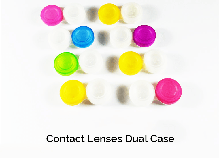 Contact Lenses Dual Case Showcase