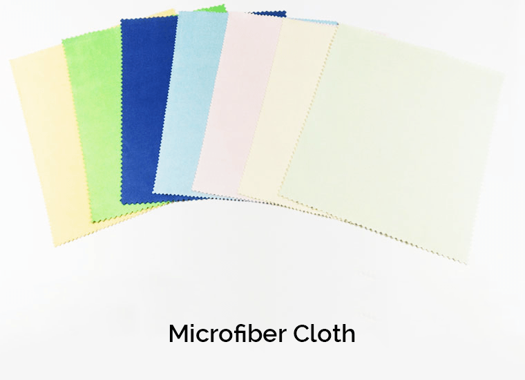Microfiber Cloth Showcase