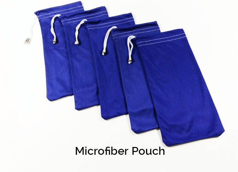 Microfiber Pouch Showcase